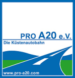 Logo Förderverein Pro A20 e. V.